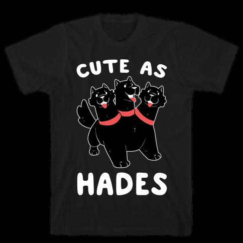 Cute as Hades - Cerberus  Mens T-Shirt