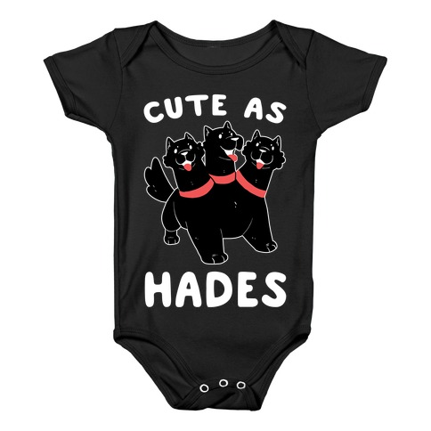 Cute as Hades - Cerberus Baby Onesy