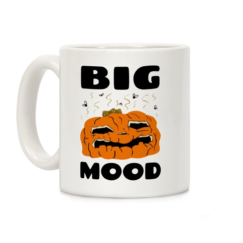 Big Mood Rotting Pumpkin Coffee Mug