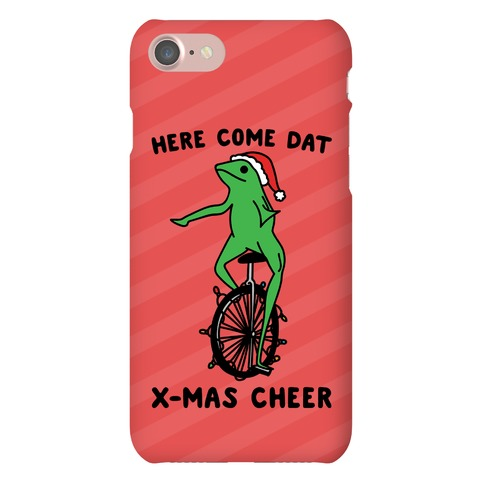 Here Come Dat X-mas Cheer Phone Case