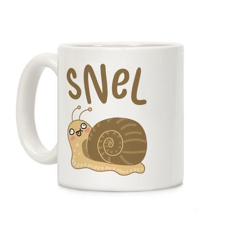 Snel Derpy Snail Coffee Mug