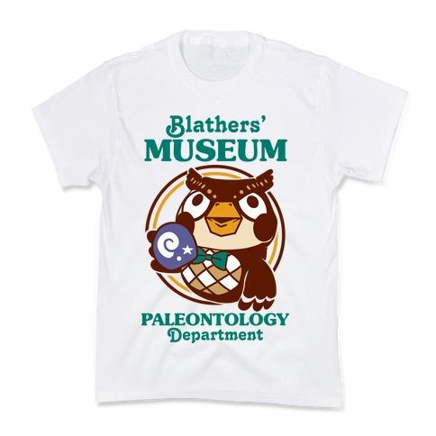 Blathers' Museum Paleontology Department Kids T-Shirt