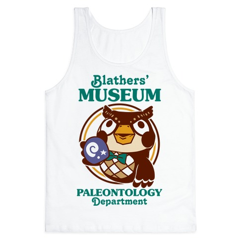 Blathers' Museum Paleontology Department Tank Top