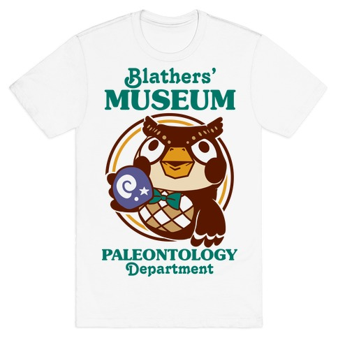 Blathers' Museum Paleontology Department T-Shirt