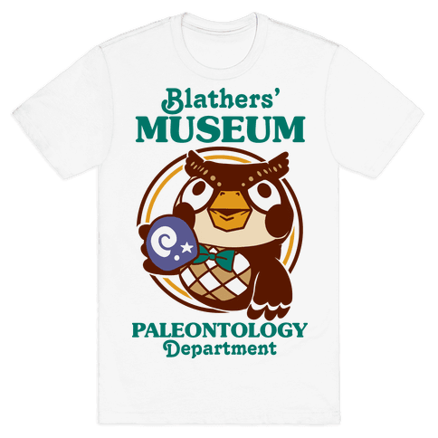 Blathers' Museum Paleontology Department Mens/Unisex T-Shirt