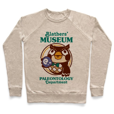 Blathers' Museum Paleontology Department Pullover