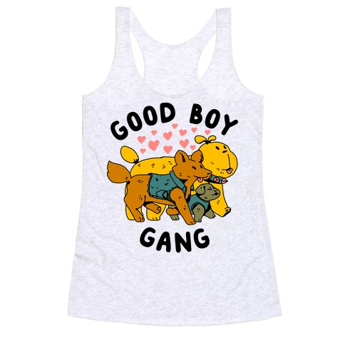 GOOD BOY GANG Racerback Tank Top