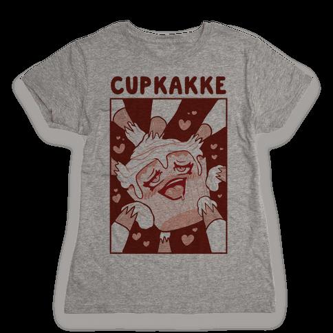 Cupkakke Womens T-Shirt
