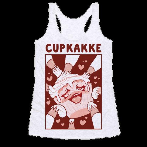 Cupkakke Racerback Tank Top