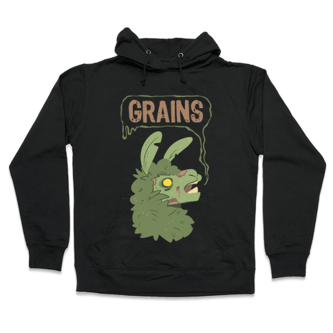 Zombie Llama Hooded Sweatshirt