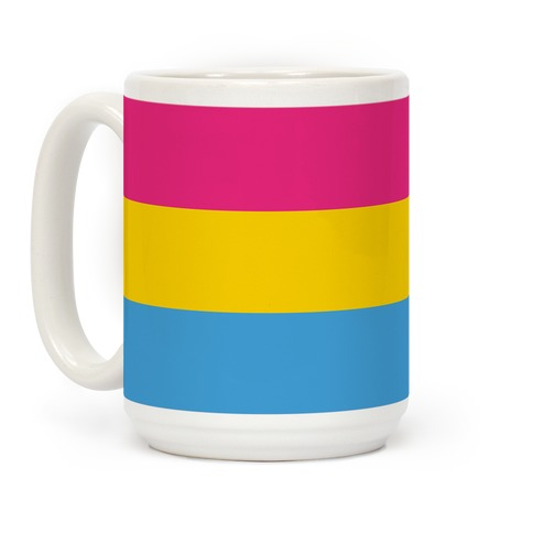 Pansexual Pride Flag Coffee Mug