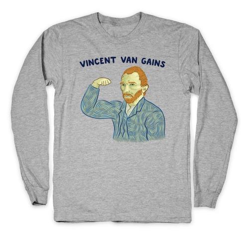 Vincent Van Gains Long Sleeve T-Shirt