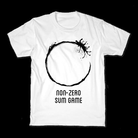 Non-Zero Sum Game Kids T-Shirt