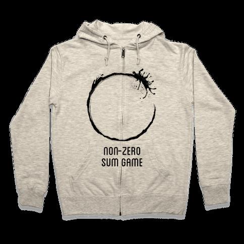 Non-Zero Sum Game Zip Hoodie