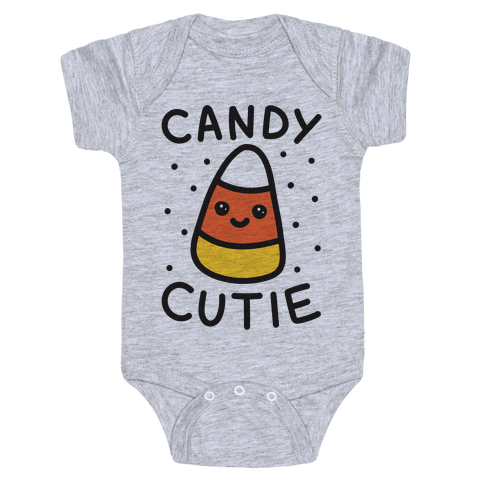 Candy Cutie Candy Corn Baby Onesy