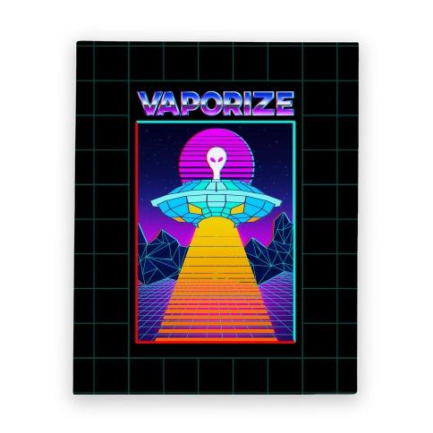 Vaporize Canvas Print