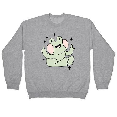 Flicky Frog Pullover