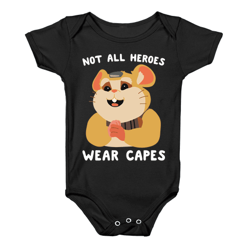 Not All Heroes Wear Capes Hammond Baby Onesy