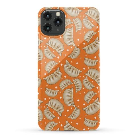 Dumplings Pattern Orange Phone Case