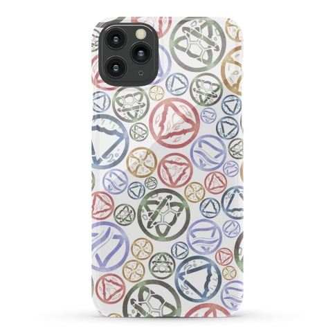 Witch's Elements Pattern Phone Case