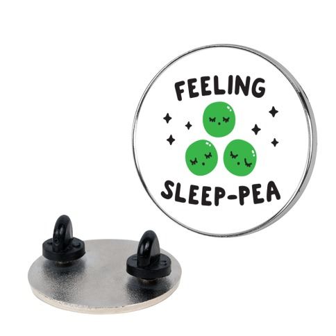 Feeling Sleep-pea Pin