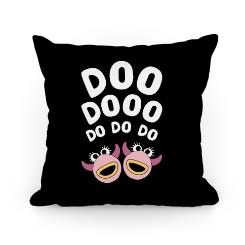Doo Dooo Do Do Do Muppet Pillow