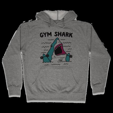 Gym Shark Hooded Sweatshirt