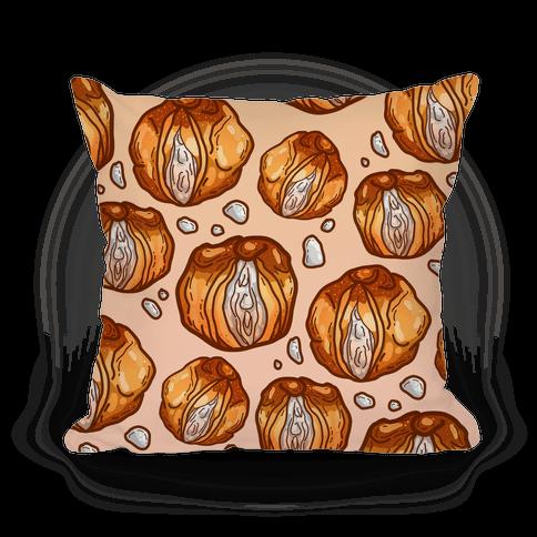 Cream Puff Vaginas Pillow
