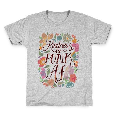 Kindness is Punk AF Kids T-Shirt