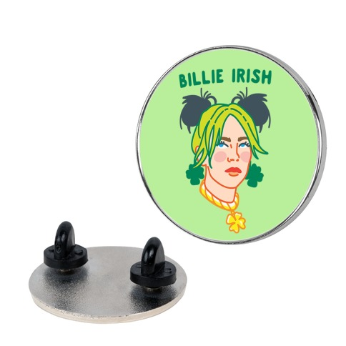 Billie Irish Parody Pin