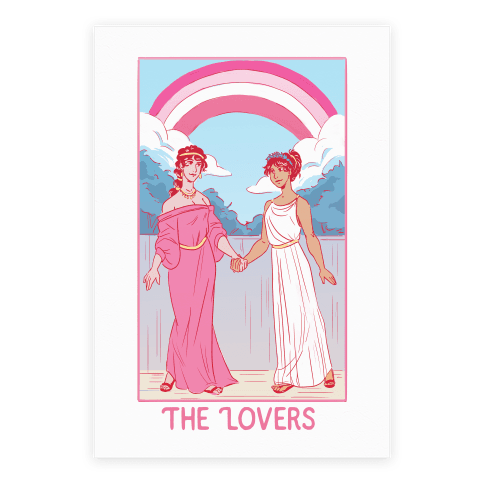 The Lovers - Sappho Poster