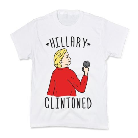 Hillary Clintoned Kids T-Shirt