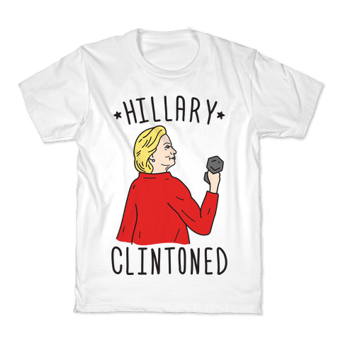 Hillary Clintoned Kids T-Shirt