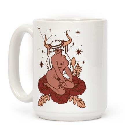 Zodiac Pinup Taurus Coffee Mug