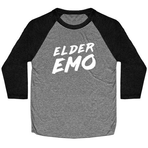 Elder Emo Baseball Tee