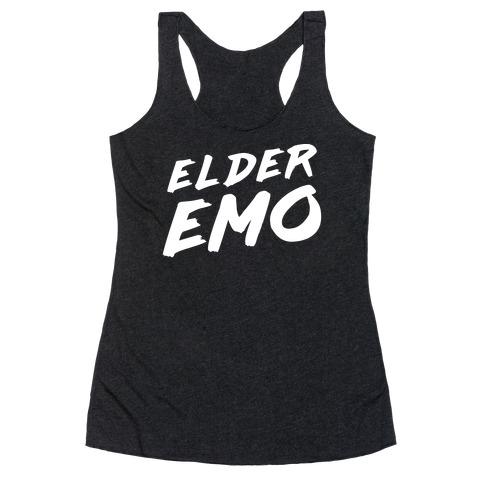 Elder Emo Racerback Tank Top