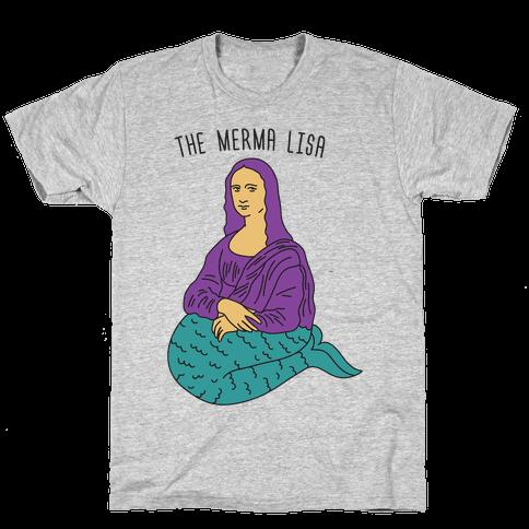 The Merma Lisa Mens/Unisex T-Shirt