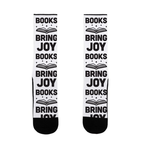 Books Bring Joy Sock