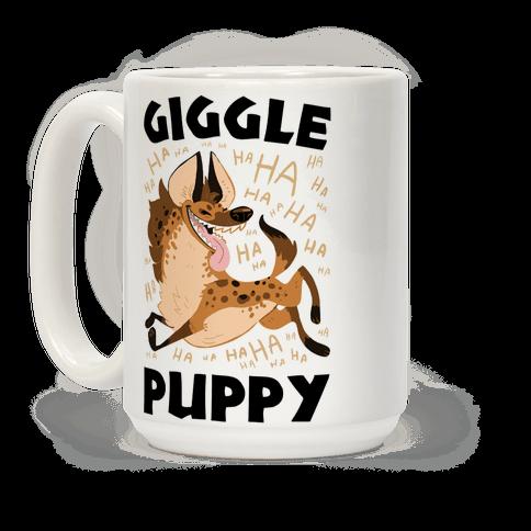 Giggle Puppy Coffee Mug