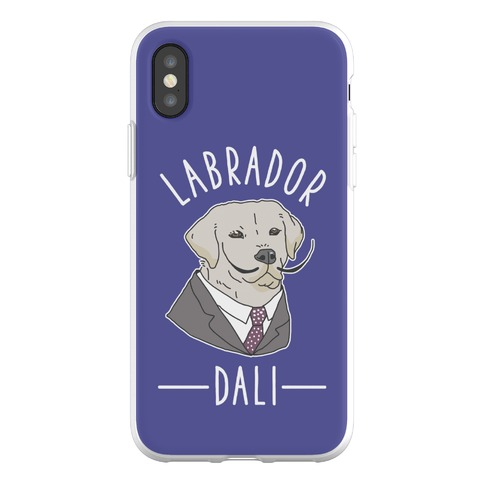 Labrador Dali Phone Flexi-Case