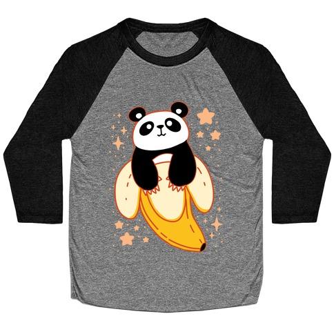Banana Panda Baseball Tee