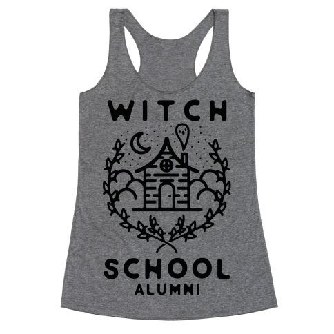 Witch School Alumni Racerback Tank Top