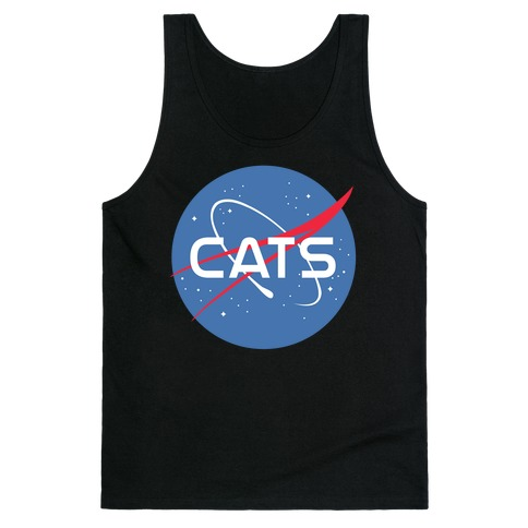 Cats Nasa Parody Tank Top