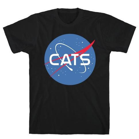 Cats Nasa Parody T-Shirt