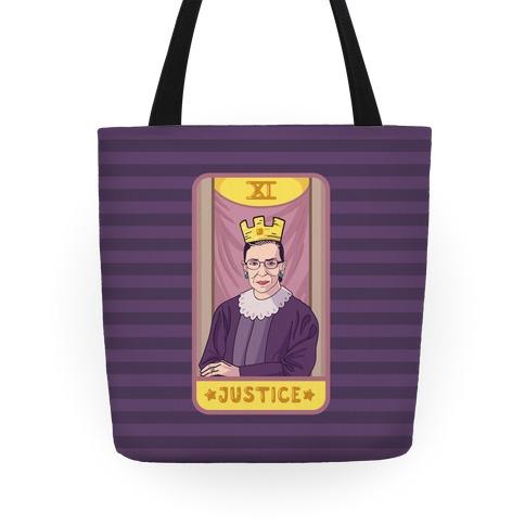 Ruth Bader Ginsburg Justice Tarot Tote