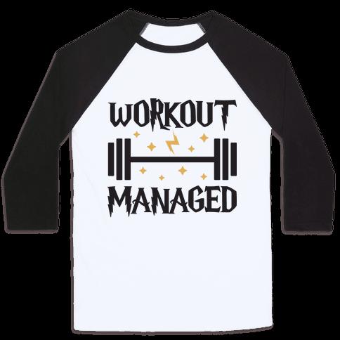 Workout Managed Baseball Tee