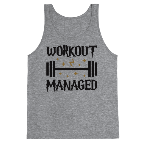 Workout Managed Tank Top