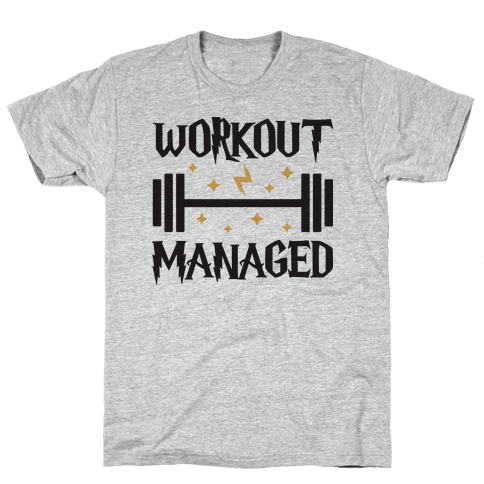 Workout Managed Mens T-Shirt