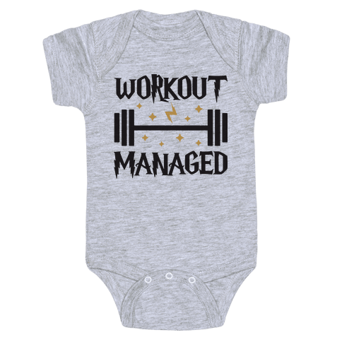 Workout Managed Baby Onesy