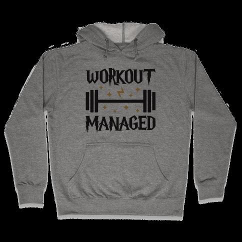 Workout Managed Hooded Sweatshirt
